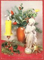 CARTOLINA VIAGGIATA GERMANIA - BUON NATALE - Frohe Weihnachten - ANNULLO STUTGART 1962 - Natale