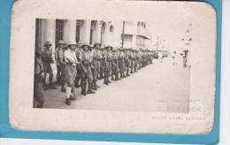 PHOTO D' UN GROUPE  DE  MILITAIRES  - INSCRIT  COLONIAL  PHOTO   E. Sursock - ST. Louis ( s�n�gal )