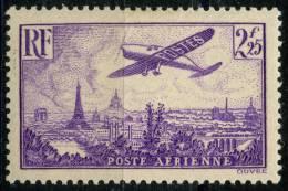 France PA (1936) N 10 * (charniere) - Poste Aérienne
