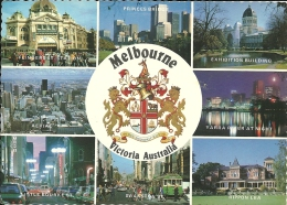 AUSTRALIA   MELBOURNE  The City And Its Coat Of Arms    Bird Theme Nice Stamp - Melbourne