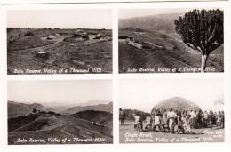 Multiview Card: 4x Zulu Reserve ; Valley Of A Thousand Hills  & Chiefs Kraal - South Africa - Südafrika