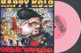 HAPPY KOLO - CHARLY'S ANGELS - Split EP - Vinyl Rose - DIMITRI - RAMONES - Punk