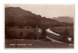 Vintage Real Picture Postcard View Of Dalchonzie Hills, Comrie, Scotland  , Lot # SC 431 - Non Classés