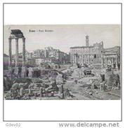 ITLATP1308C-LFTD1601TAROT. TARJETA POSTAL DE ITALIA.Ruinas Antiguas Del FORO ROMANO.ROMA - Edificios & Arquitectura