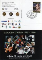 Italia 2010 Forte Dei Marmi Cinema Premio LEGGIO D'ORO Ai Doppiatori ENDAS