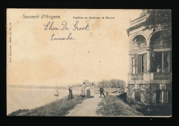 SOUVENIR D'HINGENE ::: PAVILLON DU NOTELAER ET ESCAUT - Belgique