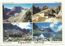 Slovakia 1999. Vysoke Tatry Travelled With Nice Stamp - Slovakia