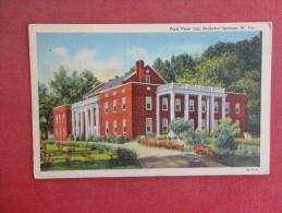 - West Virginia> Berkley Springs  Park View Inn ref 1536