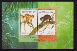 AUSTRALIA Cuscus, Joint Issue Indonesia - Blocchi & Foglietti