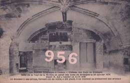 CPA * * NANTES * * Château Des Ducs De Bretagne, Salle De La Tour De La Rivière - Nantes