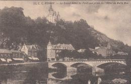Esneux - Le Grand Hôtel Du Pont Vue Prise De L'Hôtel De Belle Vue (animée) - Esneux