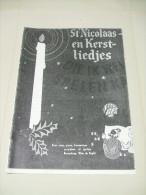 31 Partitions ST NICOLAS (Chants De Noël) Pour Voix, Piano, Harmonium, Accordéon, Guitare - Musique Folklorique