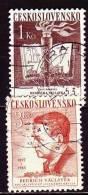 CSSR 1953 - 788-89 O Michel - Gebraucht