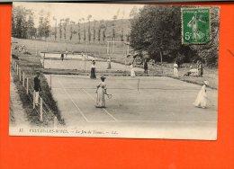 76 VEULES Les ROSES : Le Jeu De Tennis - Veules Les Roses