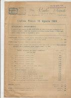 C1500 - Catalogo LISTINO 1965 MODELLISMO - ARTE POPOLARE TRAFORO LEGNO - Arte Popolare