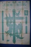 C1503 - MODELLI ARTE POPOLARE TRAFORO LEGNO - CROCE SA APPENDERE LIBERTY - Arte Popolare