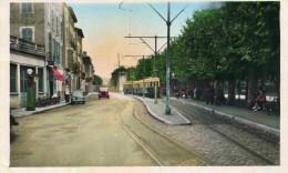 NEUVILLE SUR SAÔNE - RHÔNE  (69) - RARE CPA ANIMEE ET EN COULEUR DE 1951. - Neuville Sur Saone
