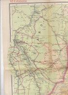 C1534 - CARTA GEOGRAFICA DELL'AFRICA ORIENTALE Ist.G.De Agostini 1935/ERITREA - SOMALIA - ETIOPIA - Carte Geographique