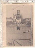 C1556 - FOTOGRAFIA  SPORT OLIMPIADI - ANELLI - ATLETA  Anni '30 - Giochi Olimpici