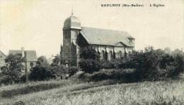 SAULNOT - HAUTE- SAÔNE   (70) - RARE CPA DE 1918. - Francia