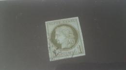 LOT 226969 TIMBRE DE FRANCE OBLITERE N�39B VALEUR 175 EUROS