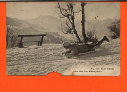 Sports D´Hiver (Luge) - (en L´état) - Wintersport