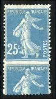 N°140 - Piquage à Cheval - Signé Calves - TB - Errors & Oddities