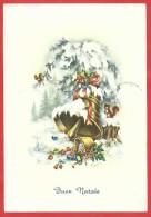 CARTOLINA VG ITALIA - BUON NATALE - Campane Innevate - SAEMEC S 408 - 10 X 15 - ANNULLO TORINO 1965 - Natale
