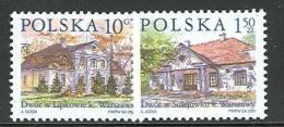 POLAND 2001 MICHEL NO:3890-3891  SET MNH /zx/ - 1944-.... République
