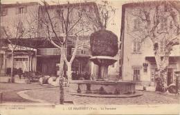 83 LE BEAUSSET LA FONTAINE ATTELAGE TABAC - Le Beausset