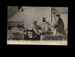 MILITARIA - Officier Belge - Hopital - Guerre 14-18 - Correspondance Militaire - Guerre 1914-18