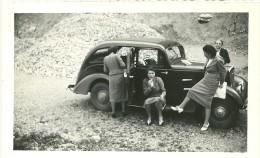 PHOTOGRAPHIE AUTO AUTOMOBILE  A IDENTIFIER (RENAULT PRAIRIE ???.) - Automobiles