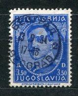 Jugoslawien Nr.284         O  Used       (273) - Gebraucht