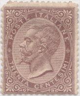 SI53D Italia Italy Regno 1863  30 C. - Effigie Di Vittorio Emanuele II Entro Un Ovale Nuovo Sg. - Nuovi