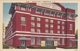 Textile Hall Greenville South Carolina