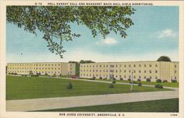 Nell Sunday Hall and Margaret Mack Hall For Girls Bob Jones University Greenville South Carolina