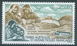 French Antarctic (FSAT), New Animal Biology Laboratory, 1993, MNH VF  Air Post - Airmail