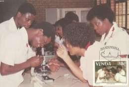 Venda 1988 Nurses Training College, 30c, Maximum Card - Venda