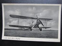 AK MILITARIA FLUGZEUG Luftwaffe ca.1940   ///  u2793