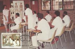 Venda 1988 Nurses Training College, 40c, Maximum Card - Venda