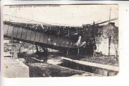 OSTPREUSSEN - EYDTKUHNEN / TSCHERNYSCHEWSKOJE - WIRBALLEN, Zerstörte Brücke, 1.Weltkrieg, 1916 - Ostpreussen