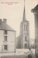EGLISE DE SAINT JEAN SUR ERVE -53- - France