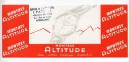 Buvard - Montres Altitude
