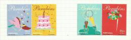 Portugal N°2492 à 2495 Neufs Avec Charnière Côte 5 Euros - Unused Stamps