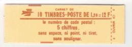 France Carnet N° 1974-C3 Conf. 9 Neuf - Carnets