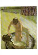 Nu Accroupi Au Tub 1918  Exposition Bonnard 1999   Recto Verso - Paintings