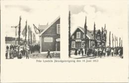 STROMSTAD LYSEKIL TRAIN STATION JARNVAGSSTAION 3 DIFF POSTCARD - Zweden
