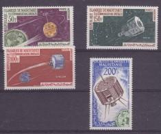 Space Mauretania  1963 4v Yvert PA27/30  ** Mnh (17589)