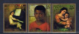 PY+ Paraguay 1971 Mi 2182-84 Gemälde - Paraguay