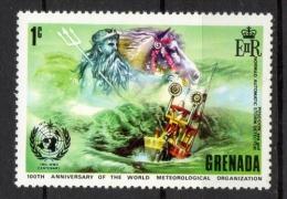 Grenada 1973 - Organizzazione Meteorologica Mondiale, World Meteorological Organization MNH ** - Grenada (...-1974)